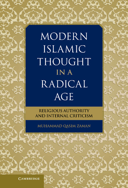 Modern Islamic Thought in a Radical Age